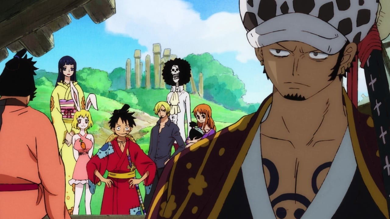 One Piece Season 21 :Episode 909  Mysterious Grave Markers! A Reunion at the Ruins of Oden Castle!