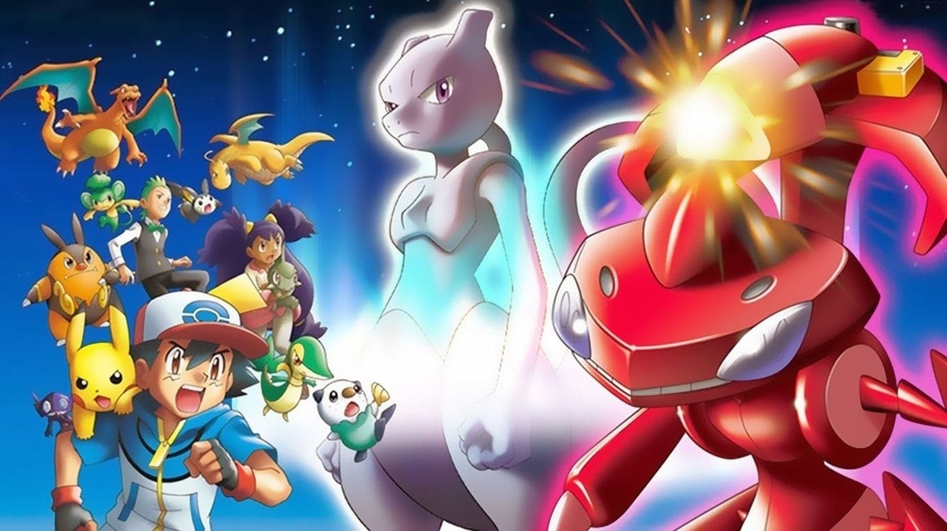 Pokemon The Movie Genesect And The Legend Awakened 2013