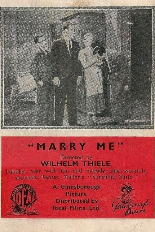 Marry Me (1932)