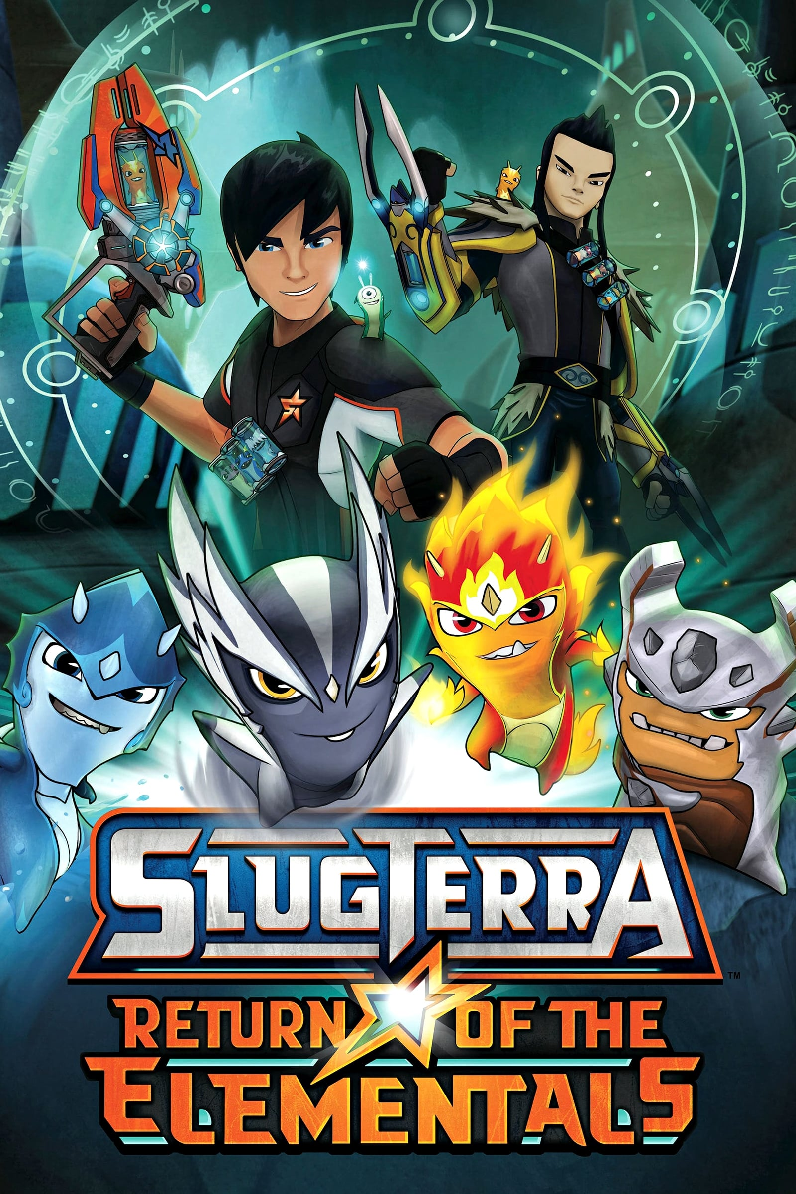 SlugTerra: Return of the Elementals (2014)