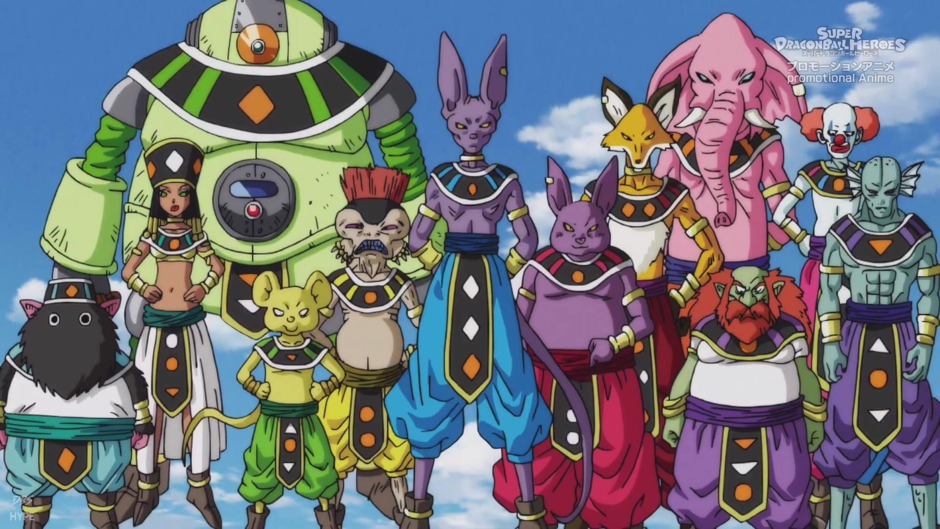 Super Dragonball Heroes Season 3 :Episode 1  Episode 1