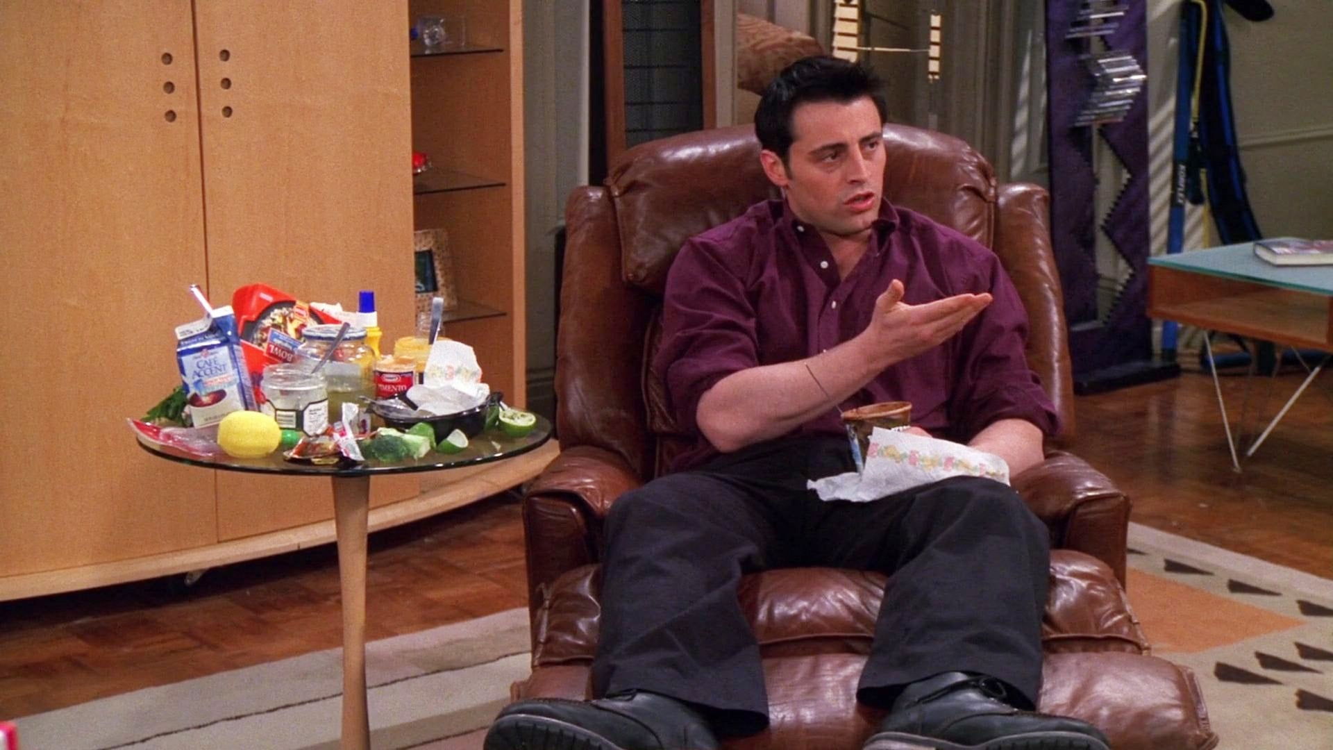 Friends Season 6 :Episode 19  The One with Joey's Fridge