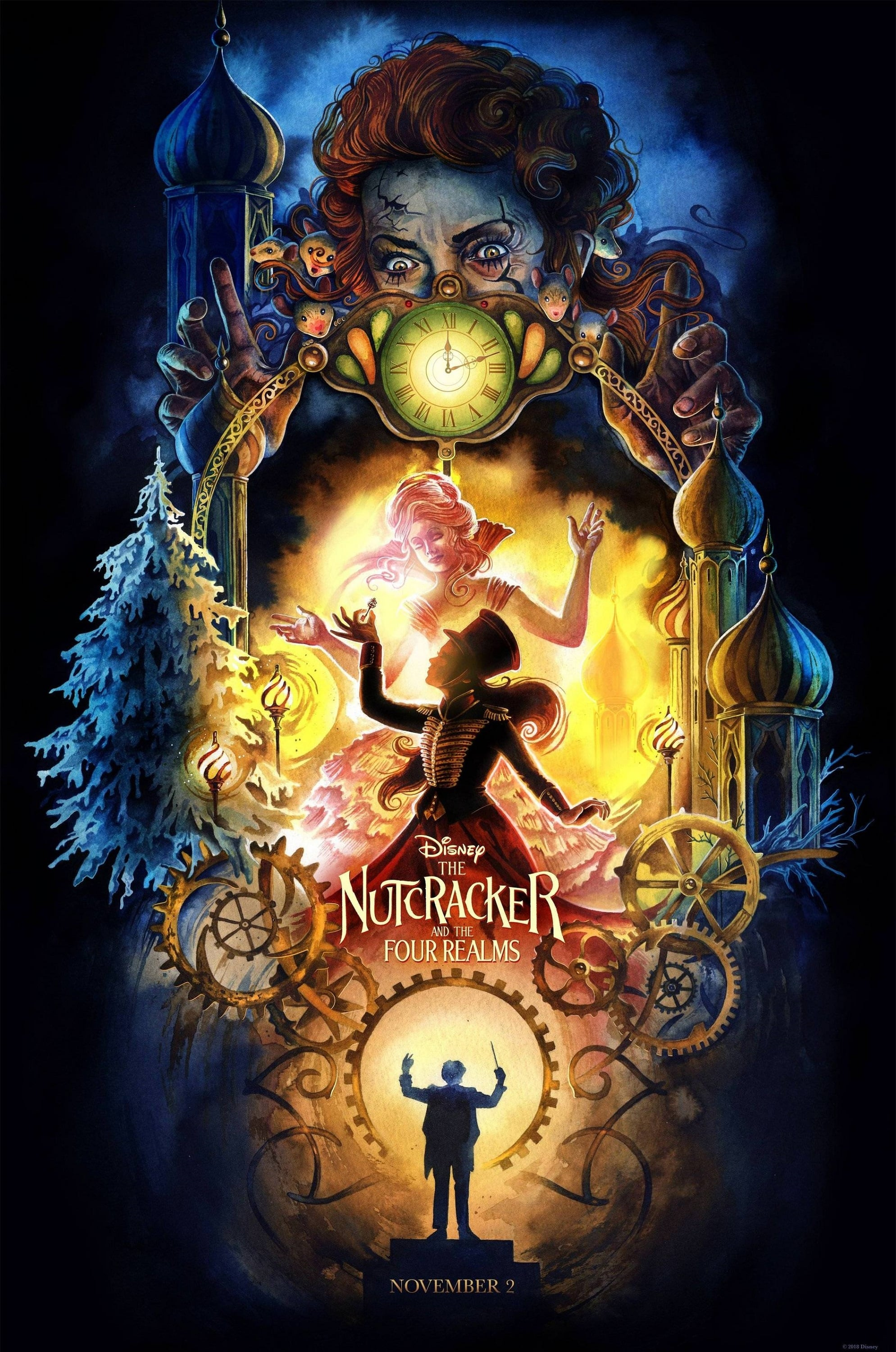 Poster and image movie Film Spargatorul de Nuci si Cele Patru Taramuri - The Nutcracker and the Four Realms - The Nutcracker and the Four Realms 2018