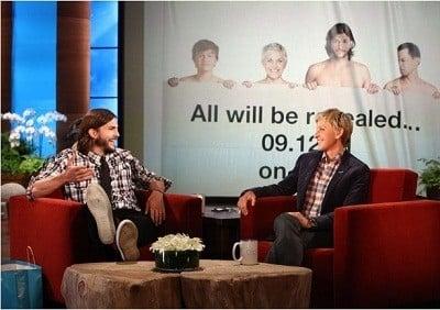 The Ellen DeGeneres Show Season 9 :Episode 1  Season 9 Premire - Ashton Kutcher