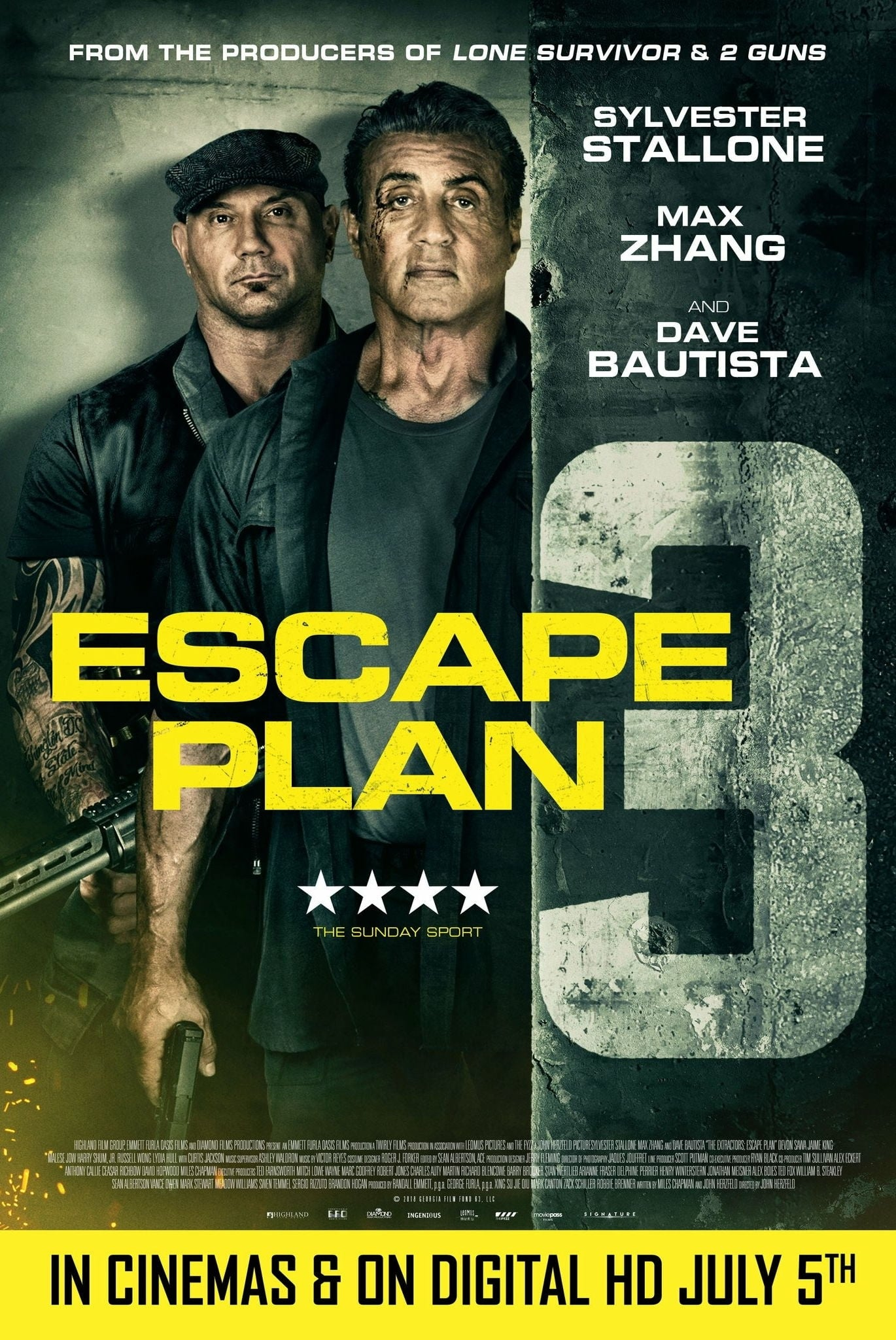 Kaçış Planı 3 - Escape Plan The Extractors (2019) 1080p DUAL BluRay Torrent indir