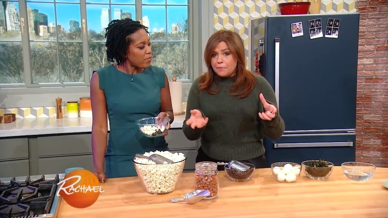 Rachael Ray Season 13 :Episode 137  Rach's Pork Chops With Apple Sauce + Peek Inside a Nutritionist's Kitchen & Fashionista's Closet