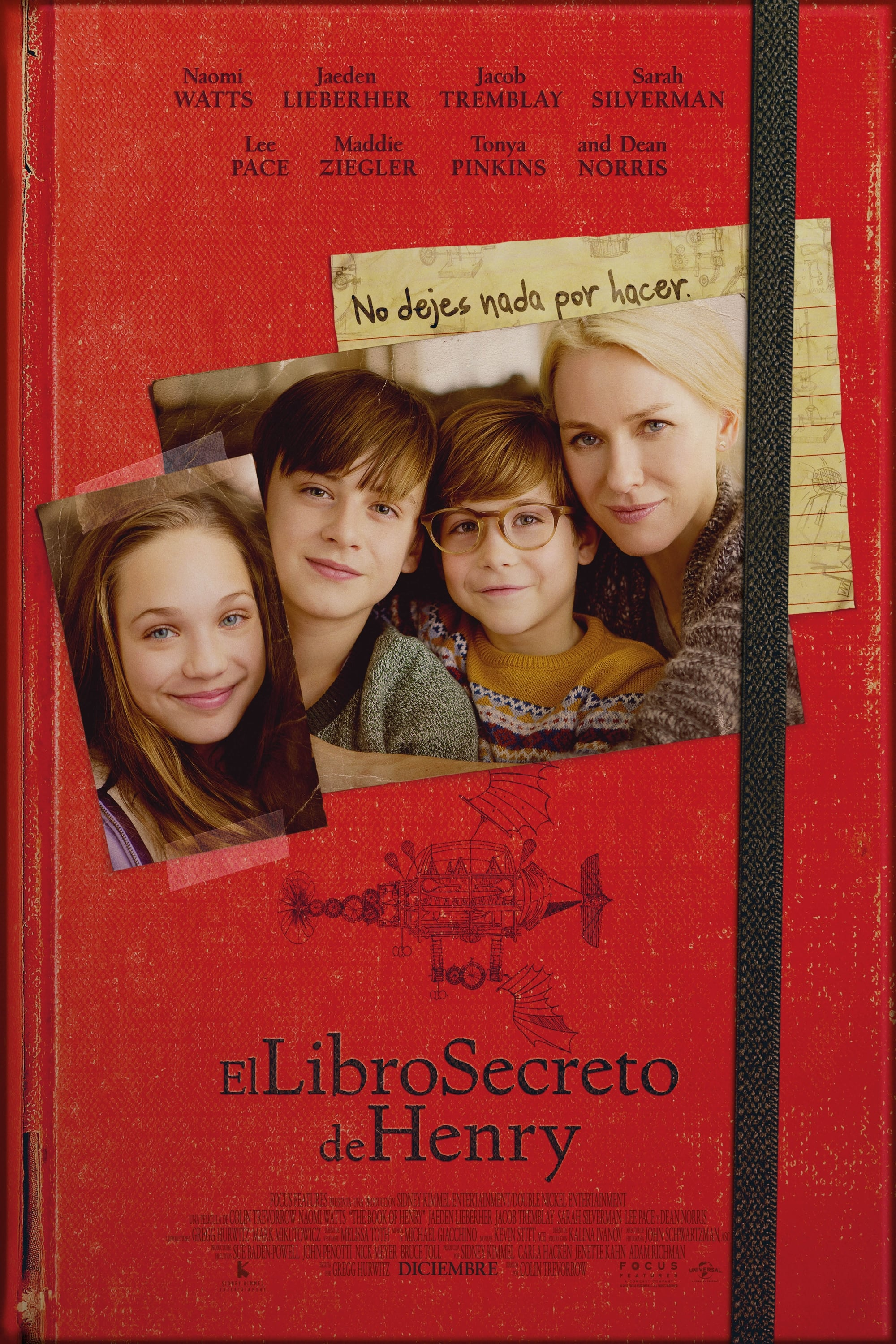 El libro secreto de Henry  (The Book of Henry) ()