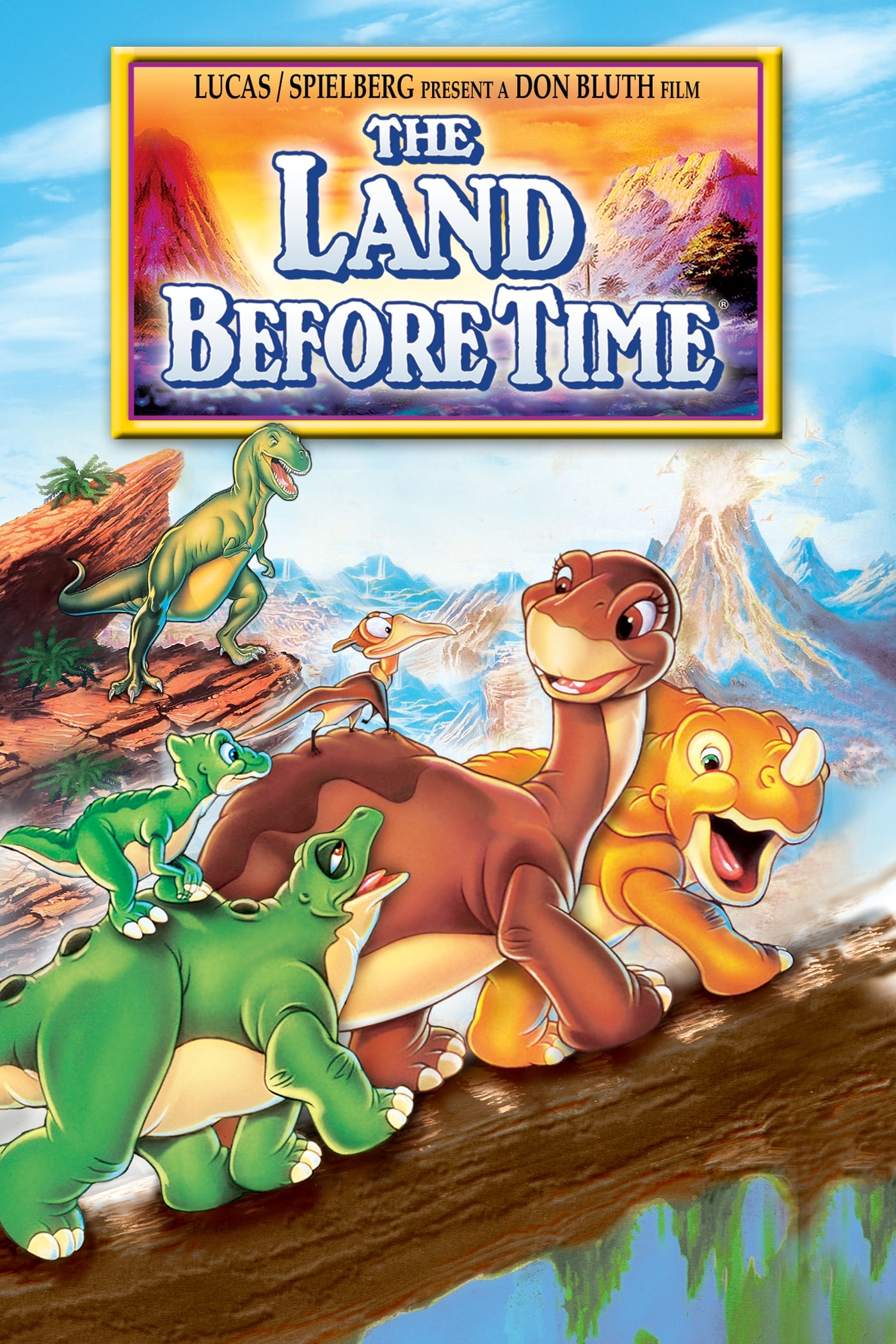 The Land Before Time (1988) - Posters — The Movie Database (TMDb)