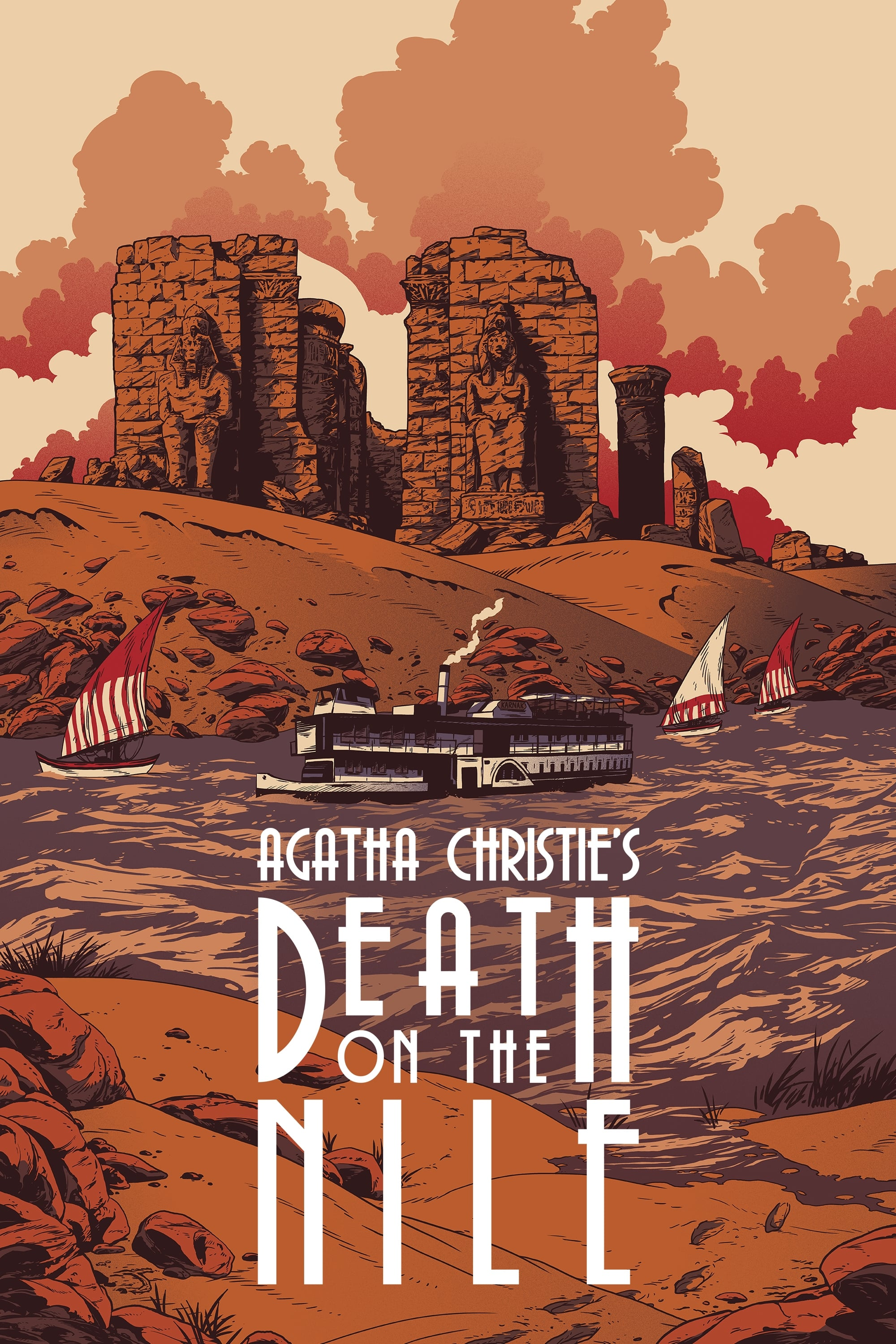 Death On The Nile 1978 Posters The Movie Database Tmdb