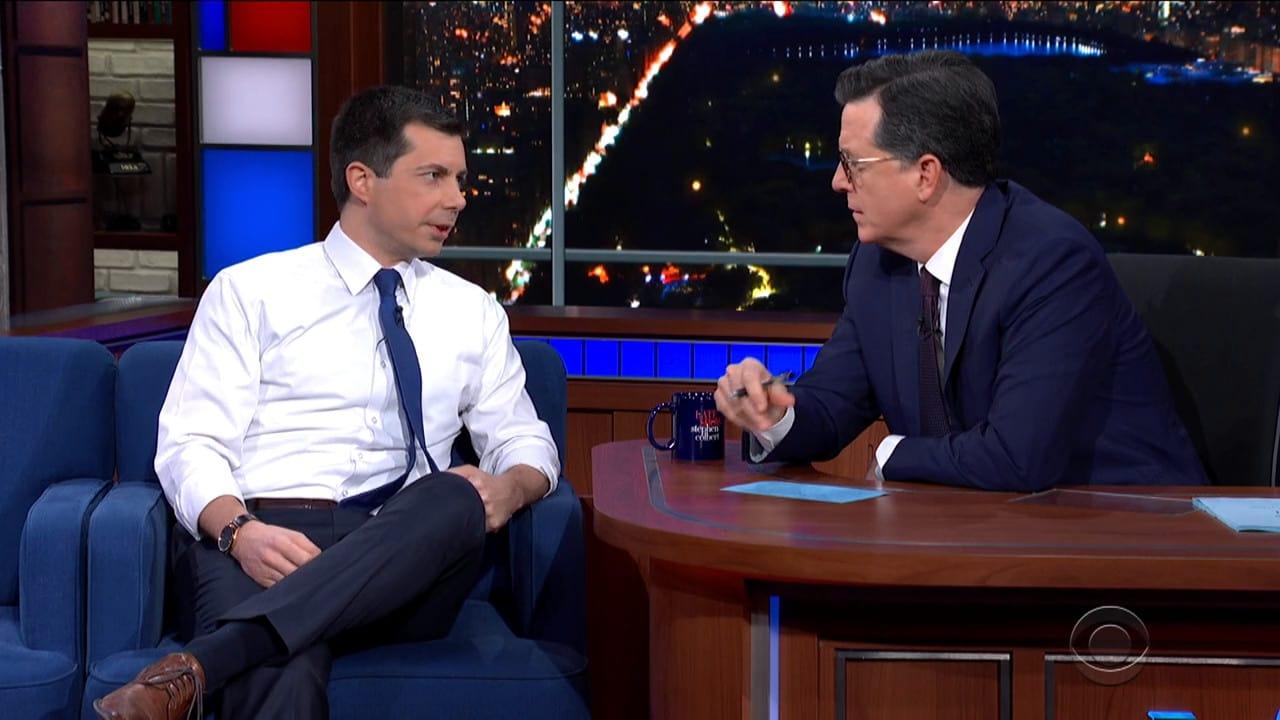 The Late Show with Stephen Colbert Season 5 :Episode 85  Pete Buttigieg / Patton Oswalt