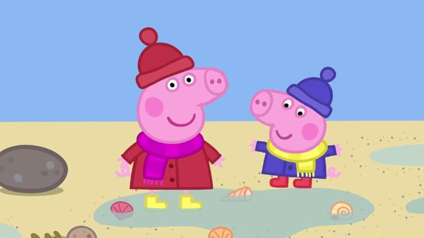 Peppa Pig Season 6 :Episode 7  Lots of Muddy Puddles