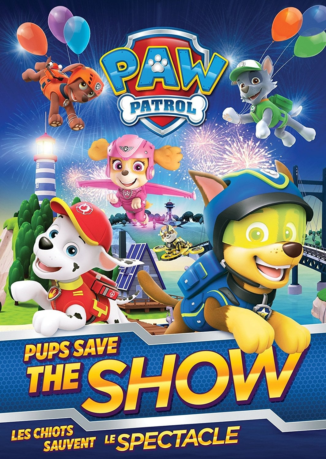 Paw Patrol - Pups Save the Show