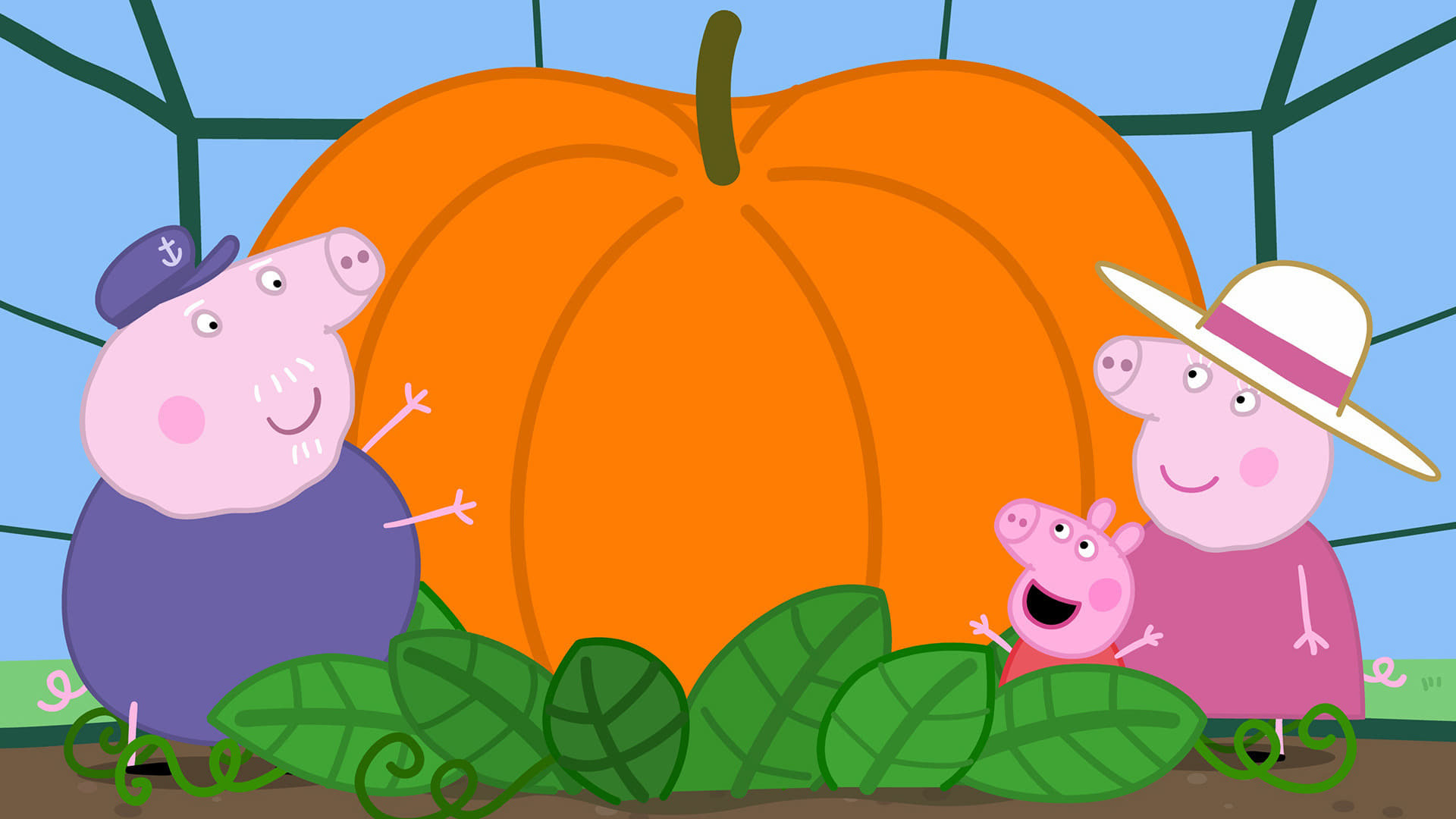 Peppa Pig Season 5 :Episode 5  Pumpkin Competition