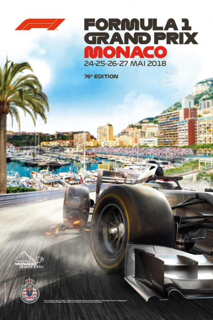 formula 1 grand prix de monaco 2018 2018. Black Bedroom Furniture Sets. Home Design Ideas