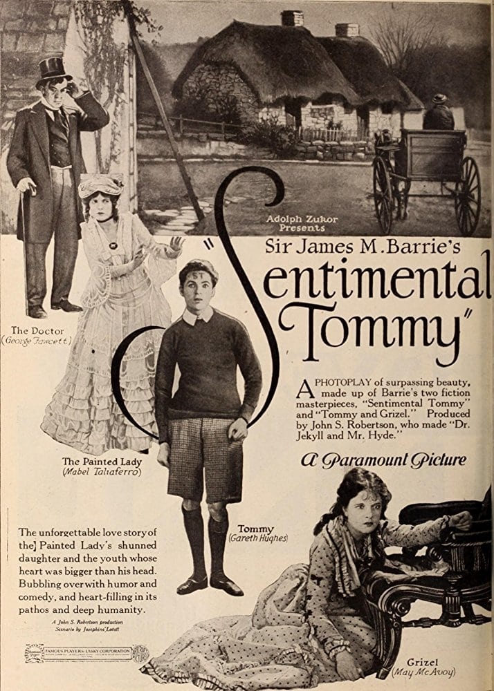 Ver Sentimental Tommy Online HD Español (1921)