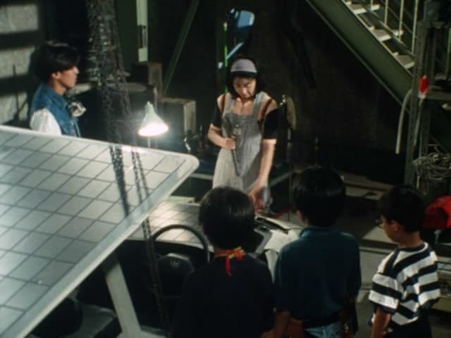 Super Sentai Season 18 :Episode 22  Laugh For Me