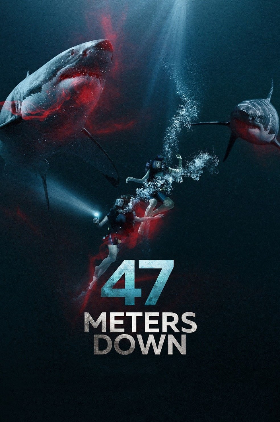 Įkalintos po vandeniu / 47 Metres Down (2017)