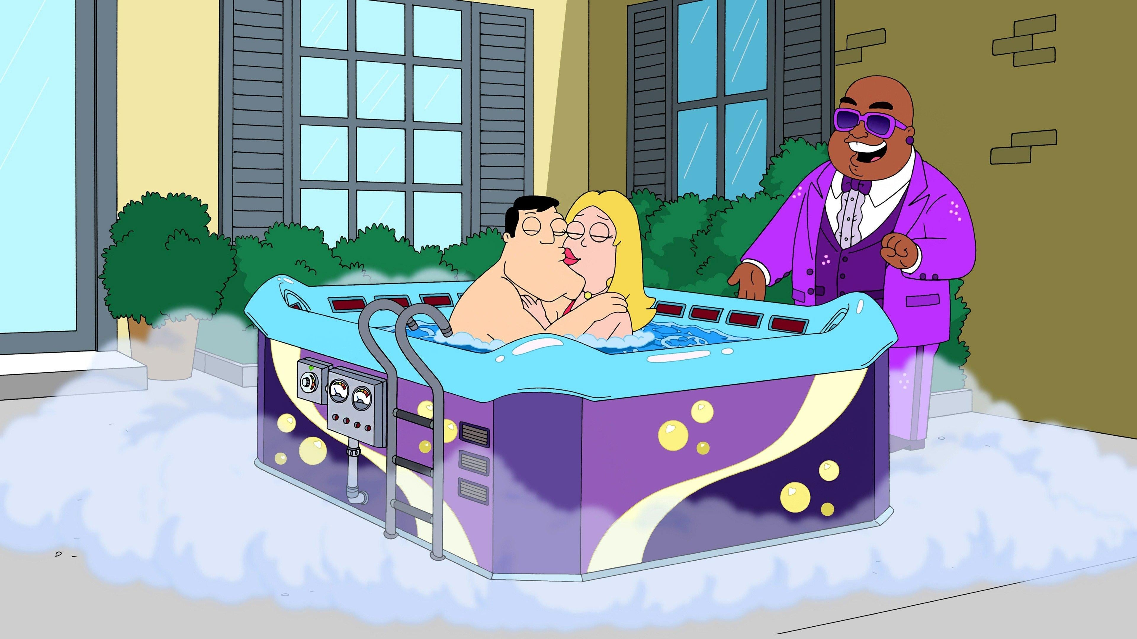 American Dad! Season 8 :Episode 1  Hot Water