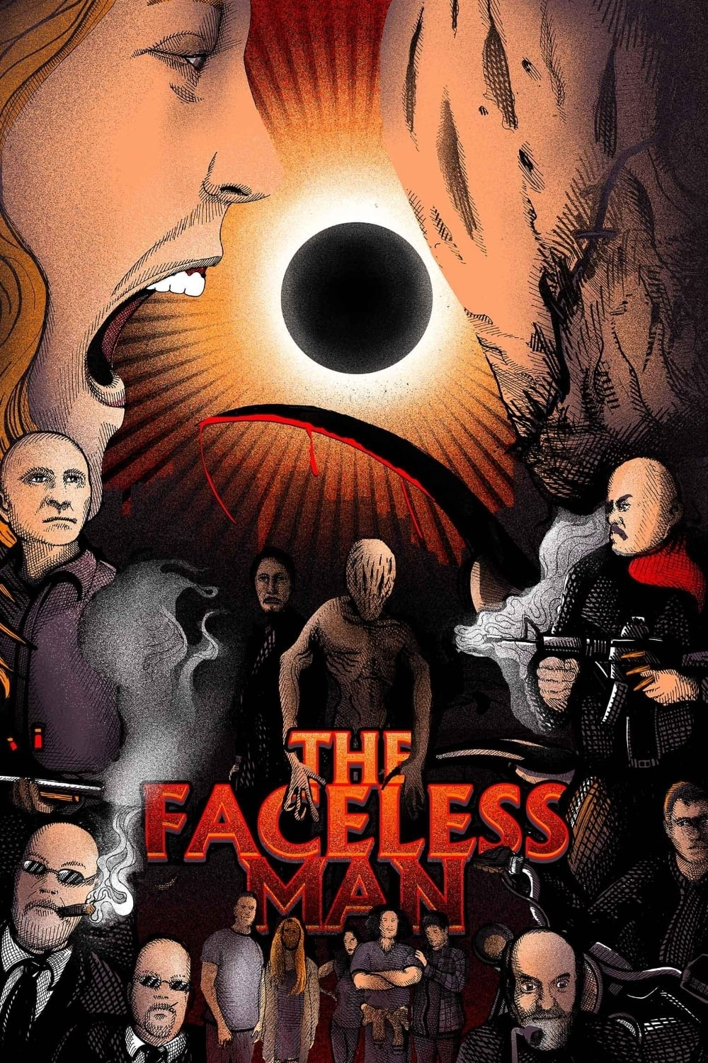 The Faceless Man on FREECABLE TV