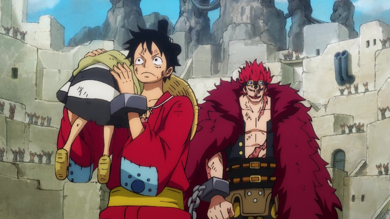 One Piece Season 21 :Episode 919  Rampage! The Prisoners - Luffy and Kid!