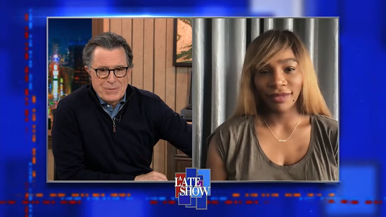 The Late Show with Stephen Colbert Season 6 :Episode 73  Serena Williams, Dayglow