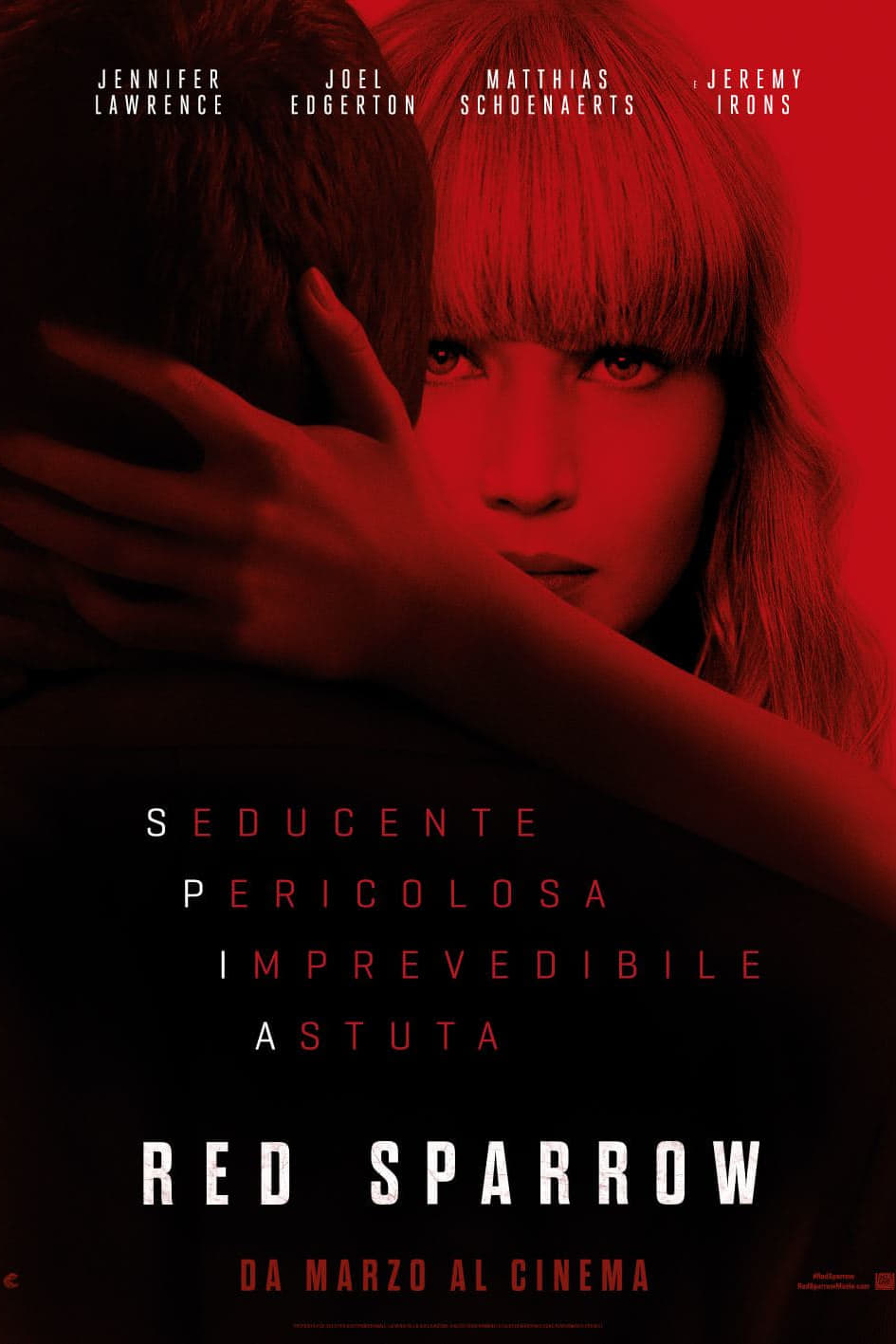 Red Sparrow Stream English