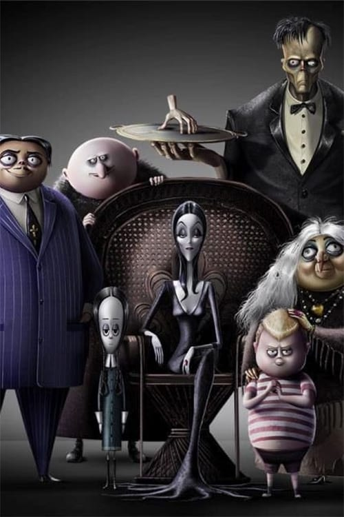 Poster and image movie Film The Addams Family - The Addams Family 2019
