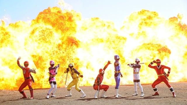 Super Sentai Season 39 :Episode 7  Spring Ninja Festival!