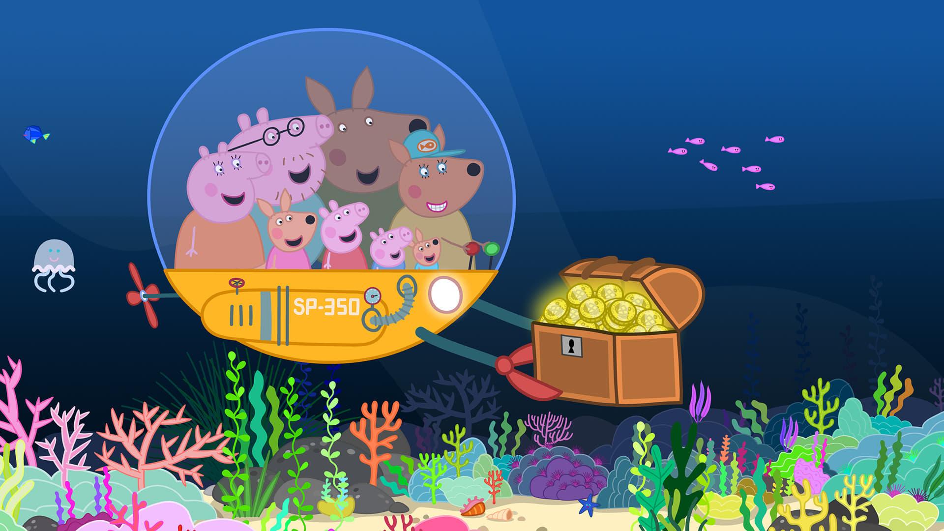 Peppa Pig Season 5 :Episode 21  Australia Part 3 - The Great Barrier Reef