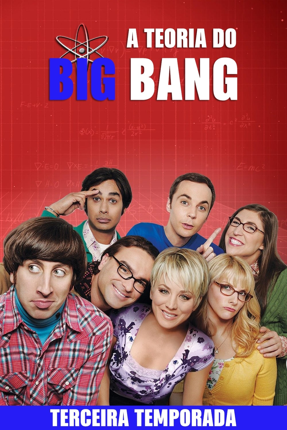 The Big Bang Theory 3ª Temporada Torrent Download (2009) Bluray 720p Dual Audio