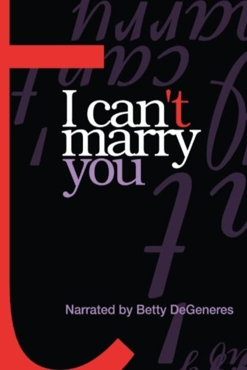 Ver I Can't Marry You Online HD Español (2004)