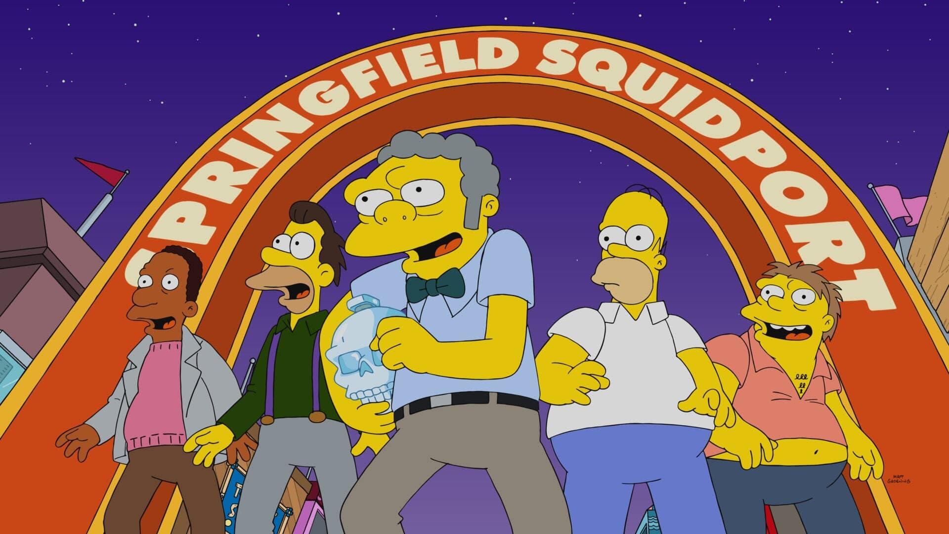 The Simpsons Season 32 :Episode 22  The Last Barfighter