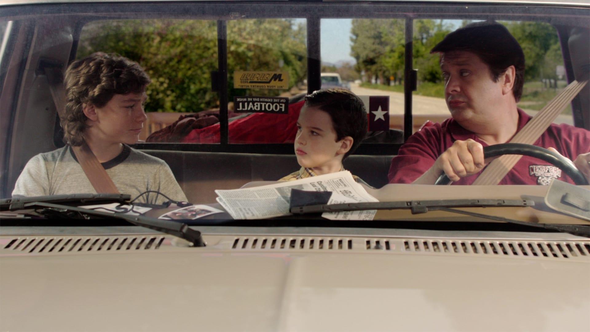 Young Sheldon Season 1 :Episode 5  A Solar Calculator, a Game Ball, and a Cheerleader's Bosom