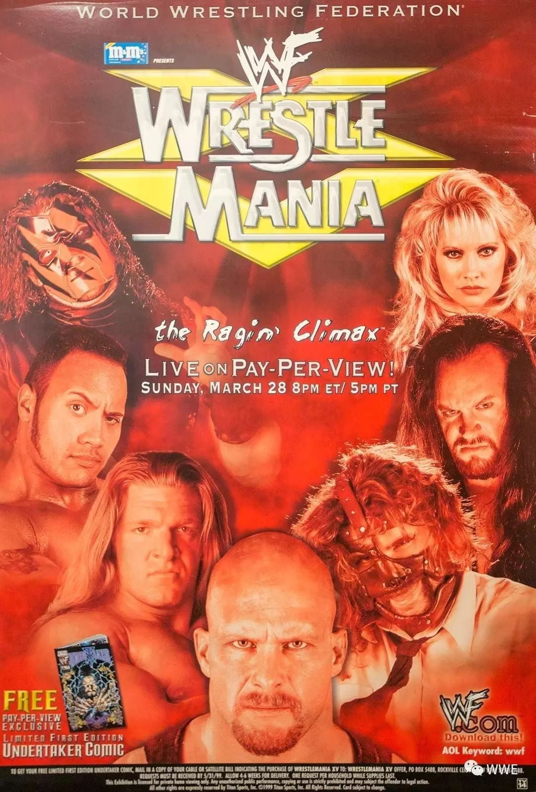 WWE WrestleMania XV (1999)