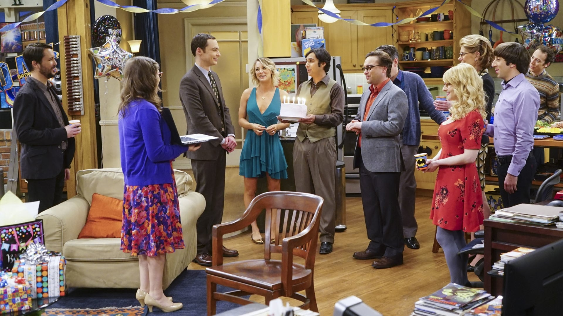 The Big Bang Theory Season 9 :Episode 17  The Celebration Experimentation