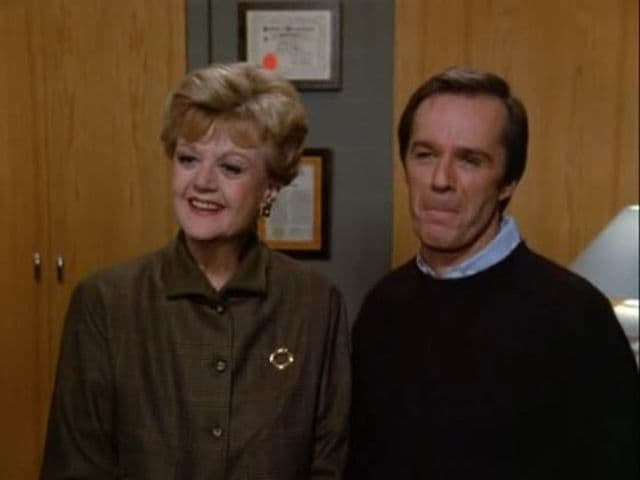 Murder, She Wrote Season 3 :Episode 15  The Bottom Line Is Murder