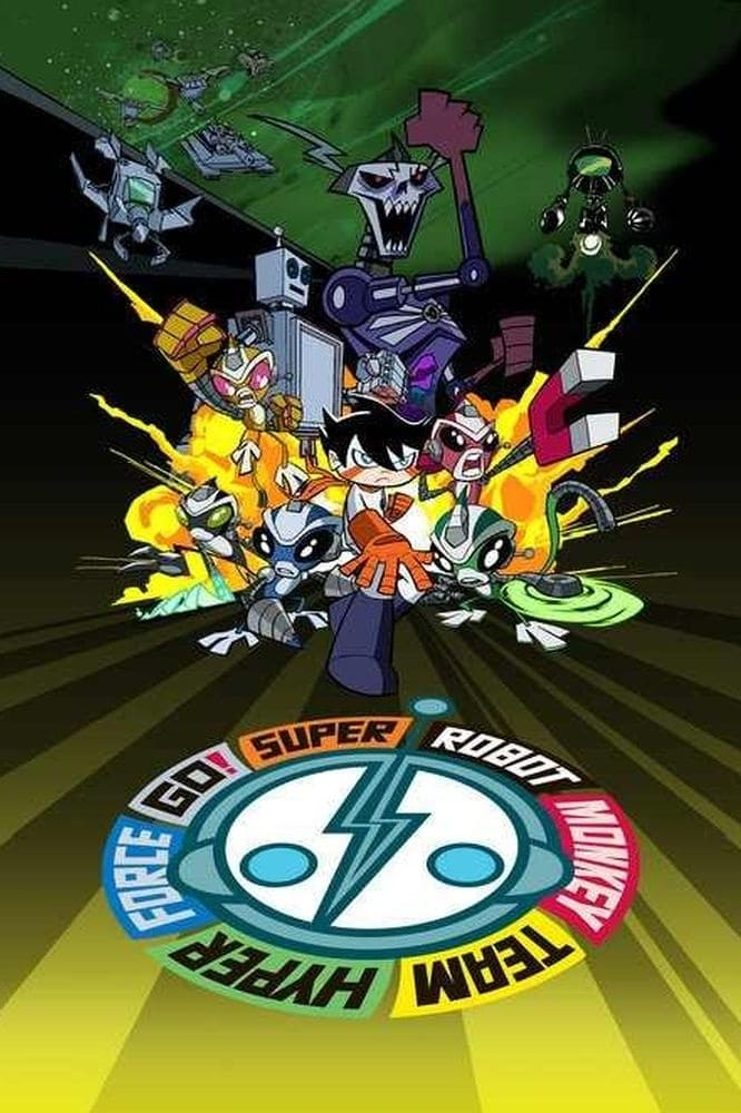Super Robot Monkey Team Hyperforce Go! TV Shows About Piloted Robot