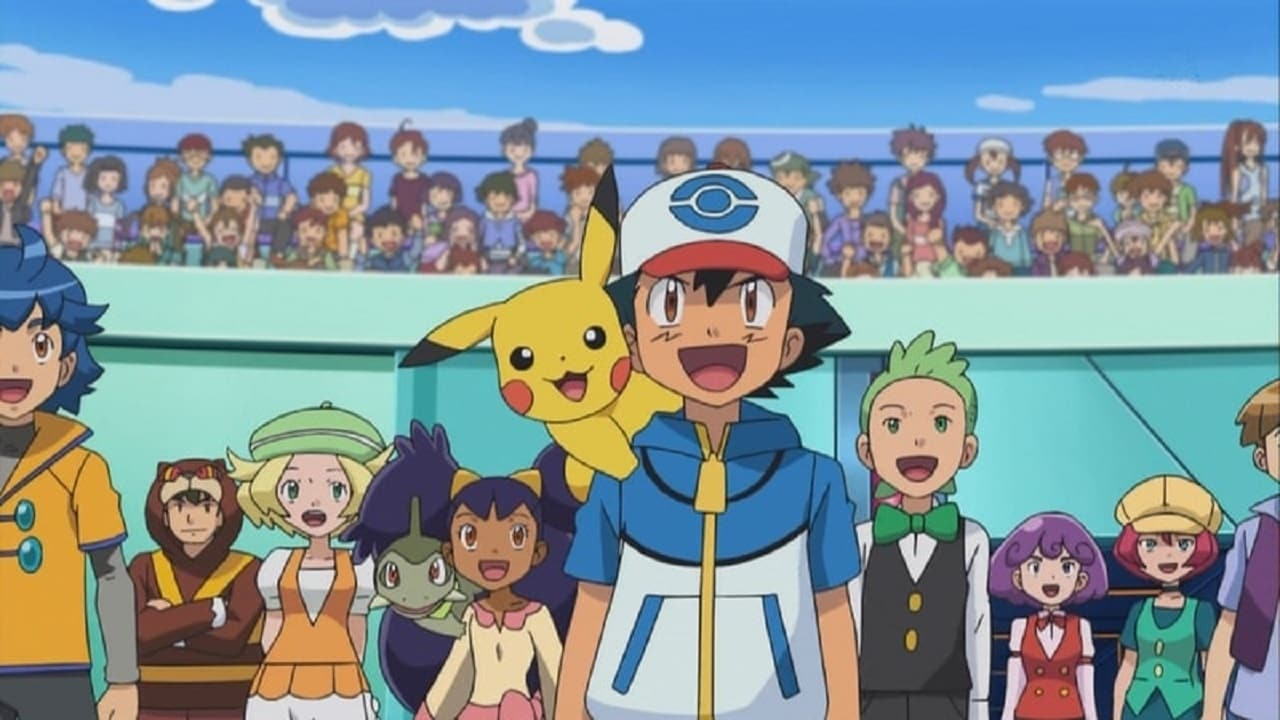 Pokémon Season 14 :Episode 39  Reunion Battles in Nimbasa!