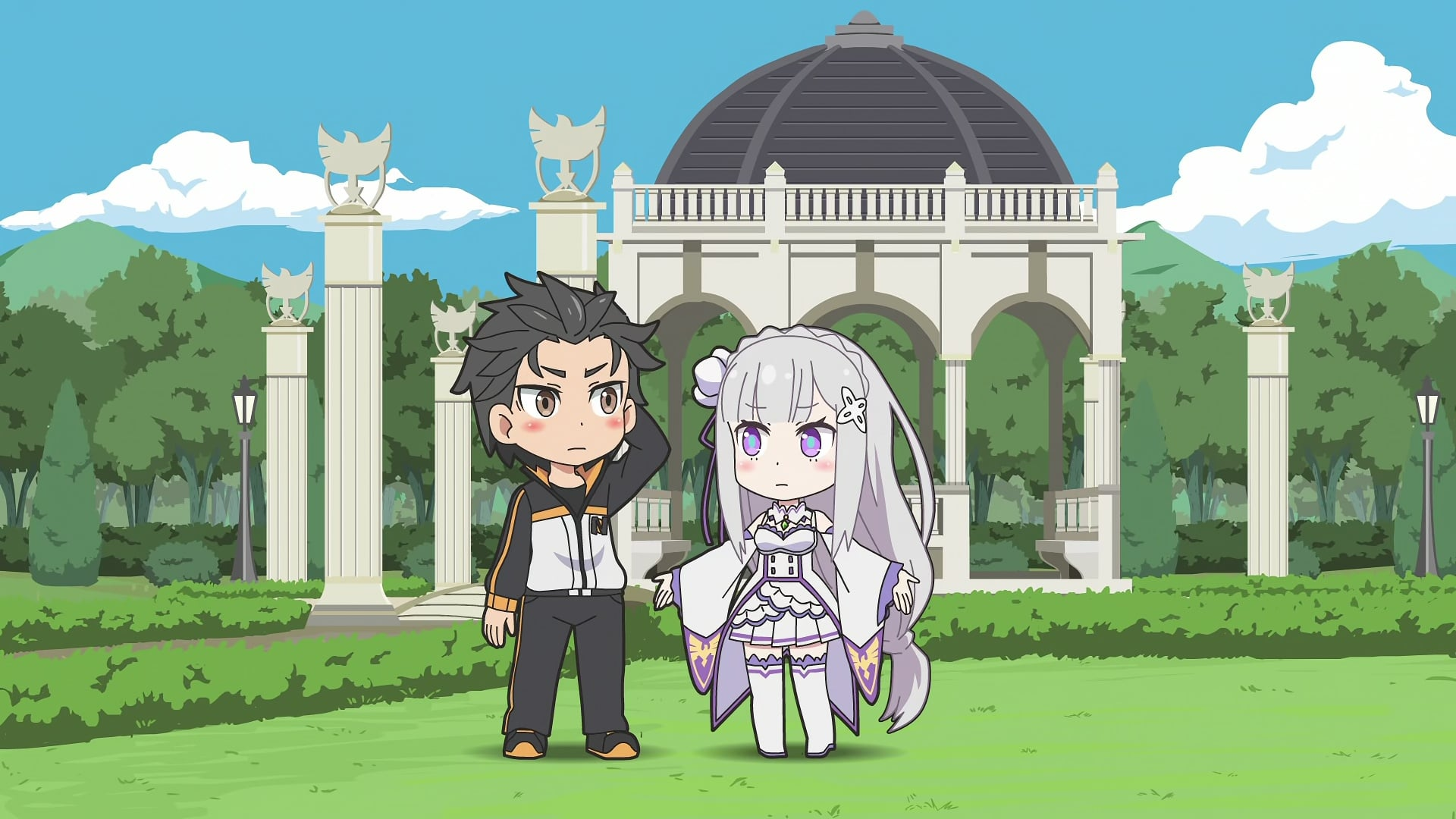 Re:ZERO -Starting Life in Another World- Season 0 :Episode 6  Re:ZERO ~Starting Break Time From Zero~ World 2-3