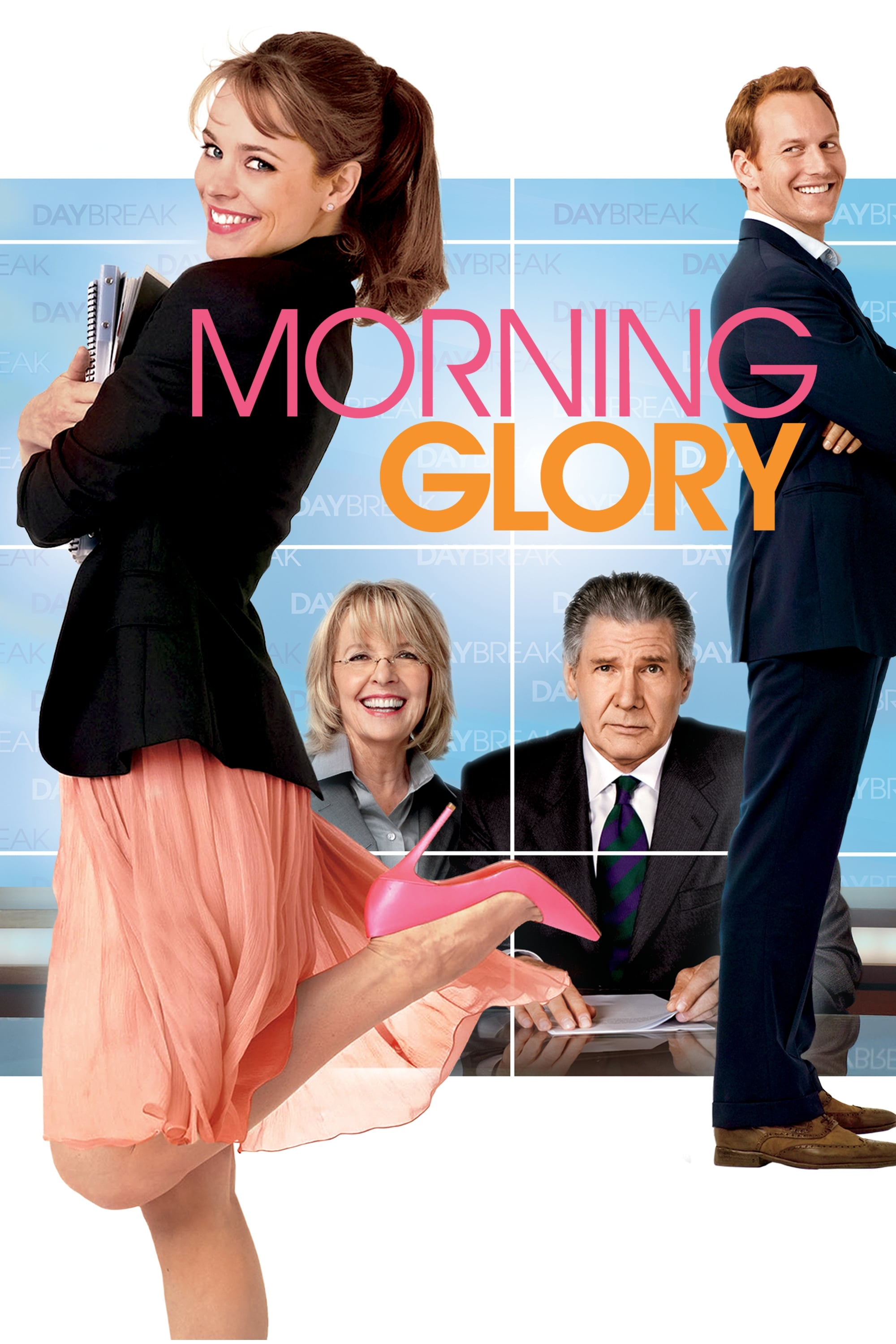 Morning Glory (2010) WEB-Rip 1080p [2.8 GB] 720p [1.1 GB] 480p [502 MB] [Hindi DD 5.1 + English DD 5.1] | G-Drive