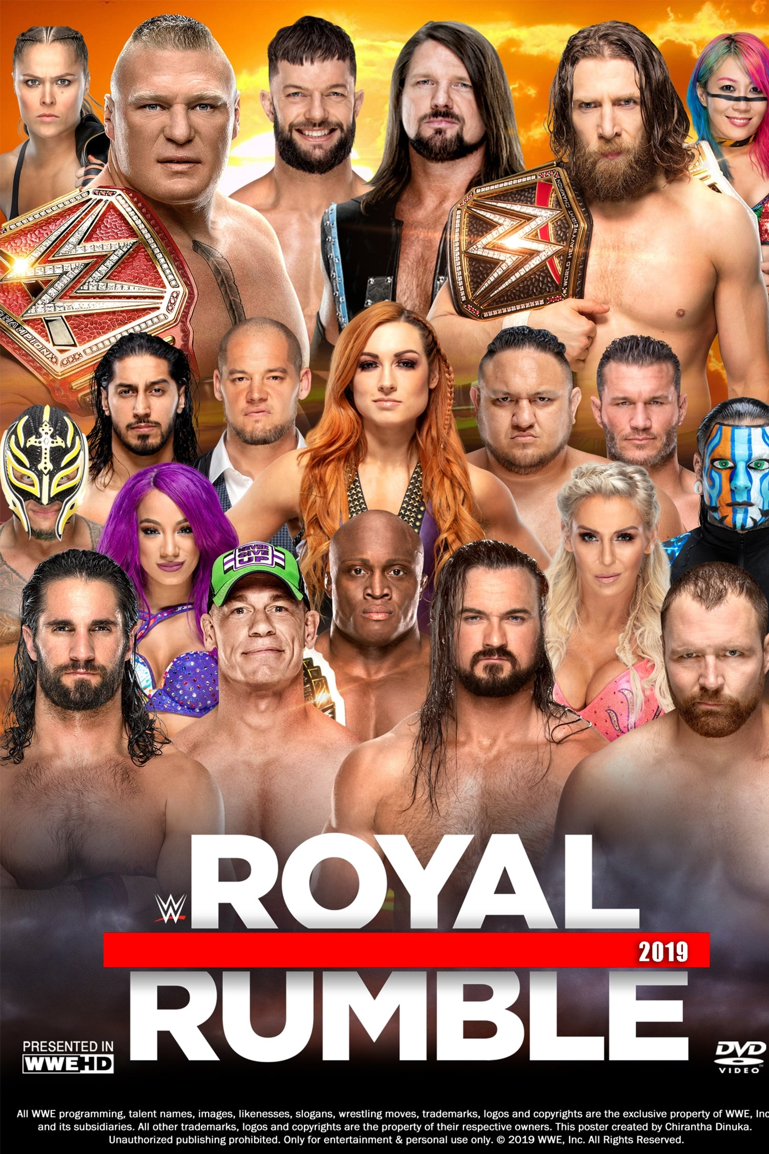 WWE Royal Rumble 2019 (2019)