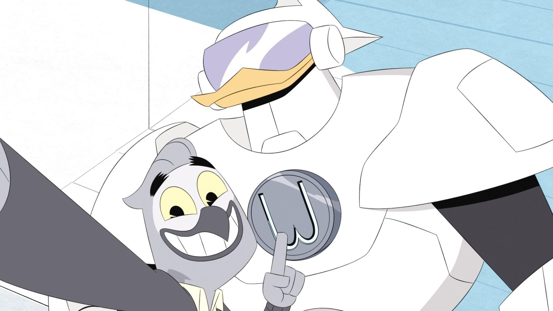 DuckTales Season 1 :Episode 18  Who is Gizmoduck?!