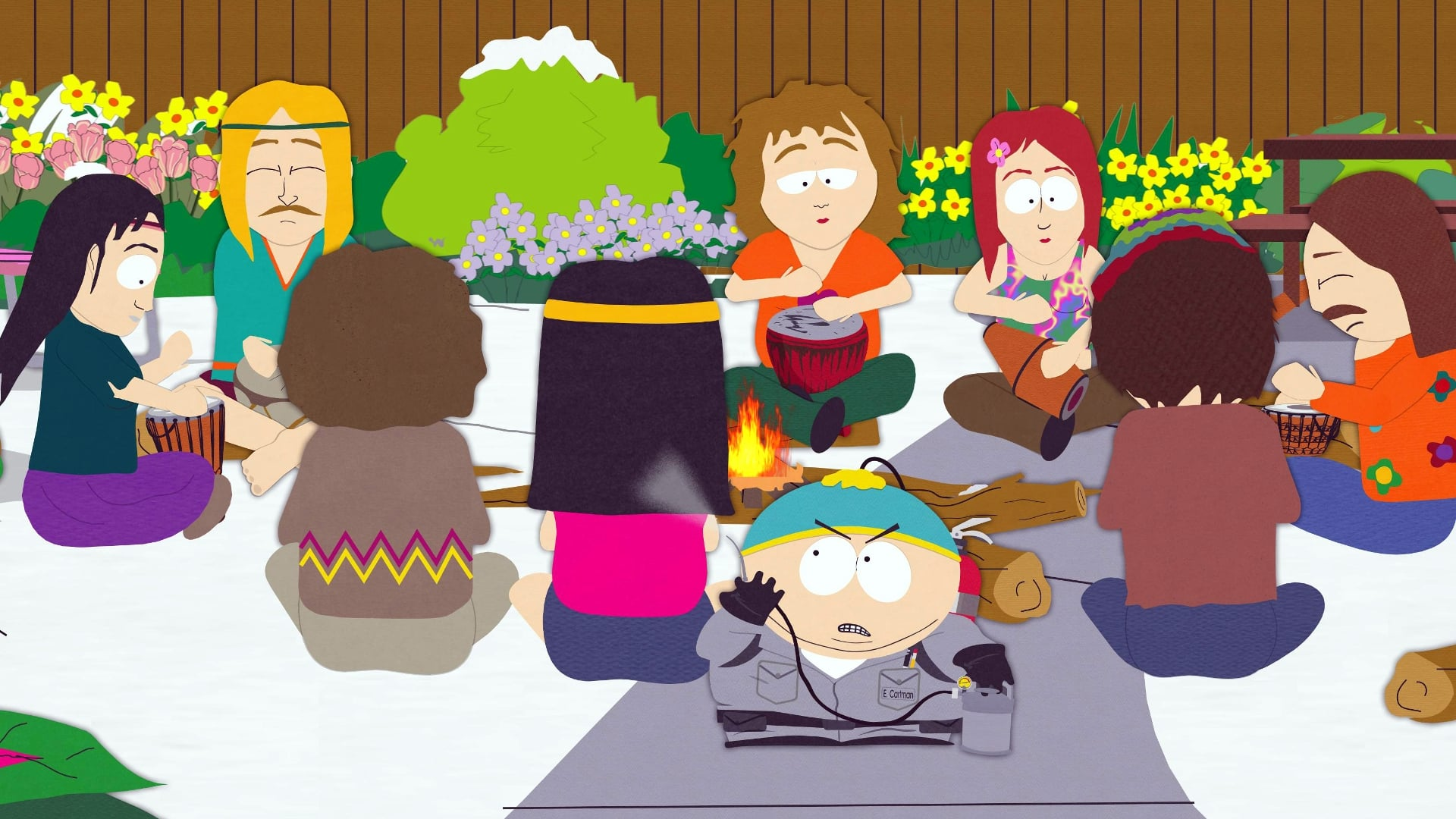 South Park Season 9 :Episode 2  Die Hippie, Die