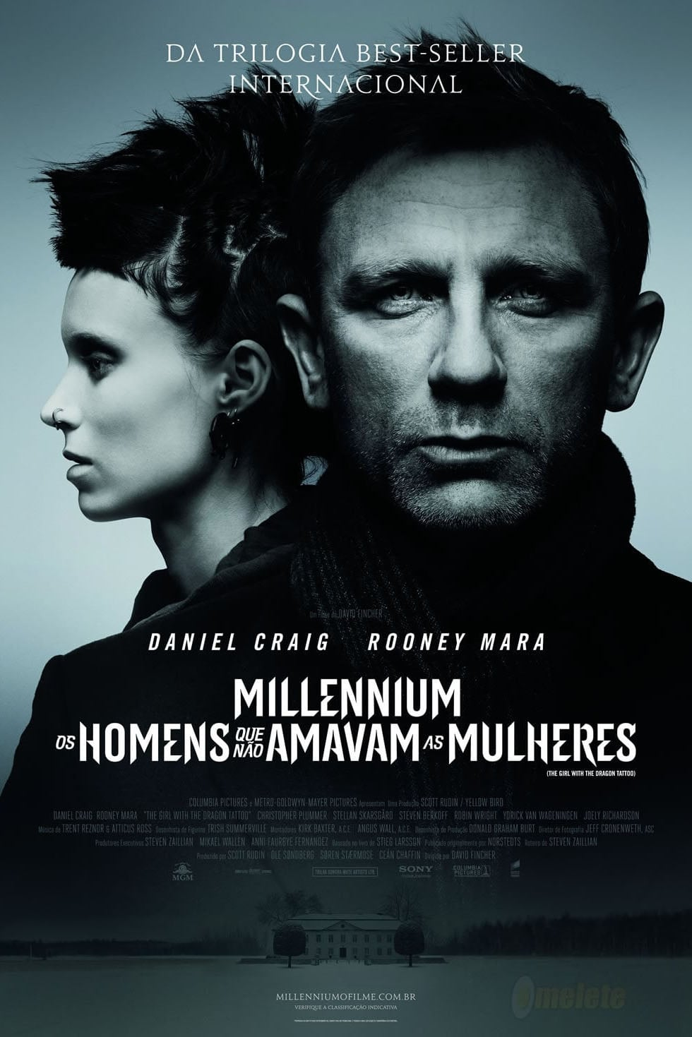 capa Millennium: Os Homens que Não Amavam as Mulheres