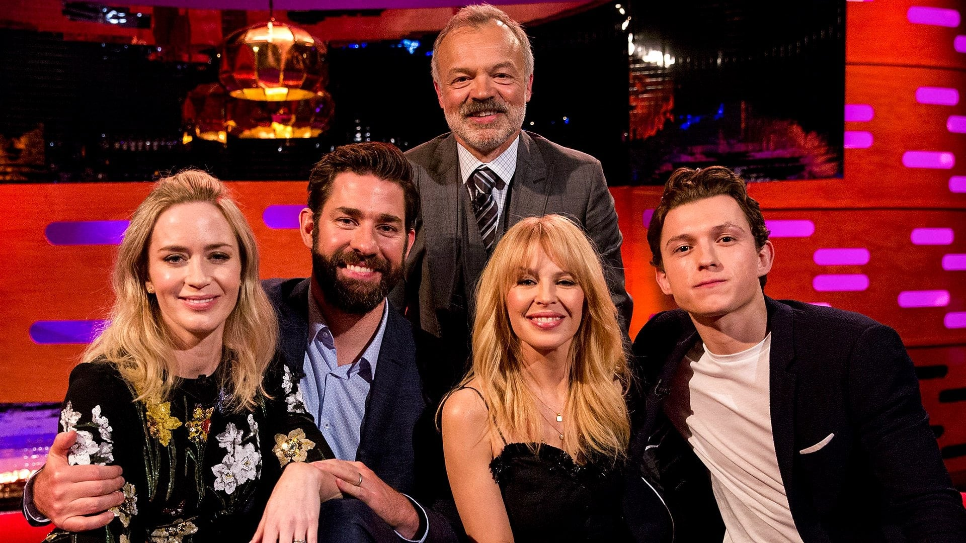 The Graham Norton Show - Season 23 Episode 1 : Emily Blunt, John Krasinski, Tom Holland, Kylie Minogue
