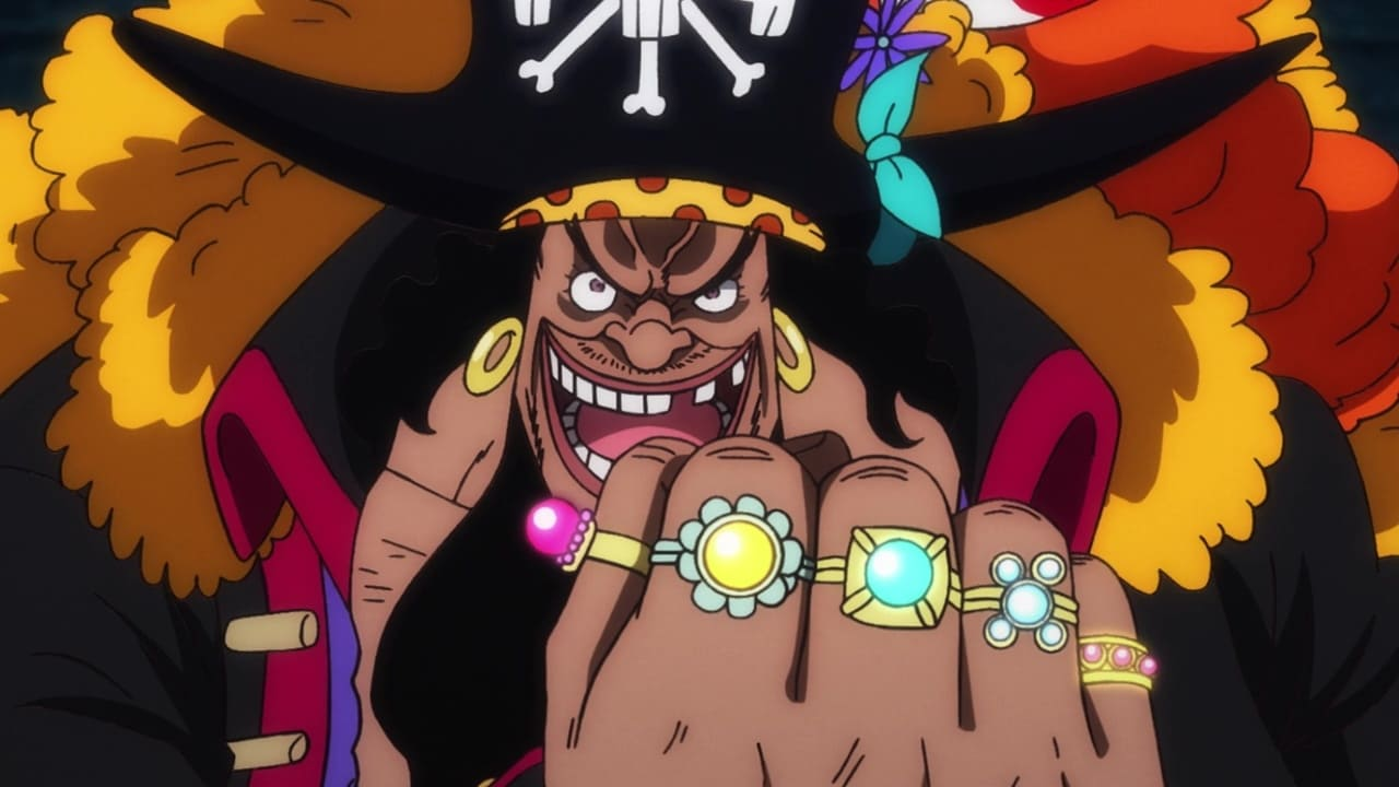 One Piece Season 21 :Episode 917  The Holyland in Tumult! Emperor of the Sea Blackbeard Cackles!