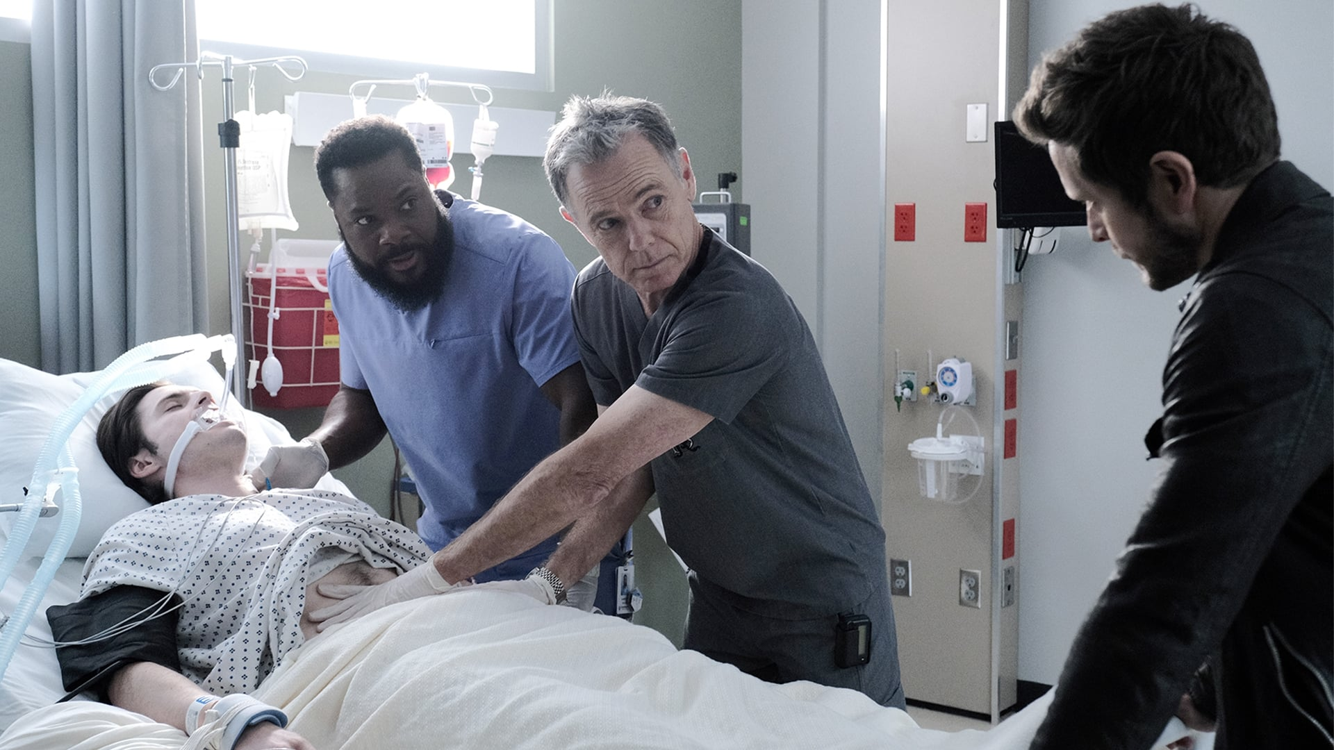 The Resident Season 3 :Episode 13  How Conrad Gets His Groove Back