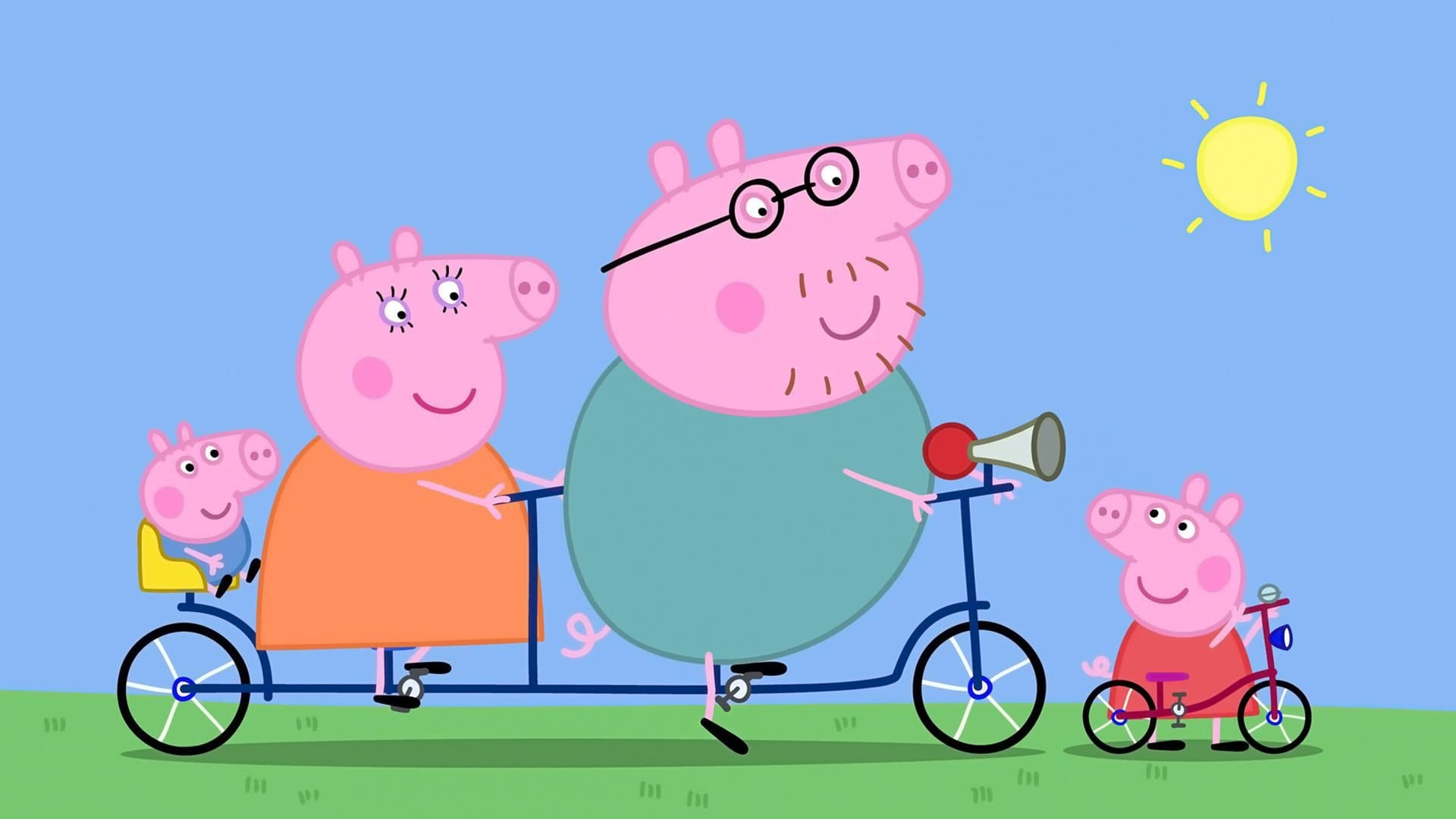Peppa Pig Season 2 :Episode 40  The Cycle Ride