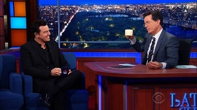 The Late Show with Stephen Colbert Season 1 :Episode 33  Seth MacFarlane, Neil DeGrasse Tyson