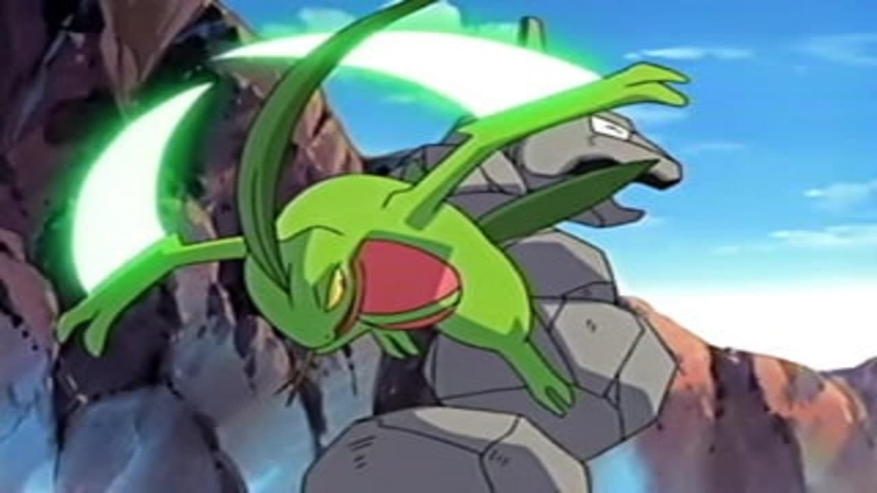 Pokémon Season 8 :Episode 45  Hooked on Onix